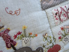 kit broderie, kit patchwork, kit creatif